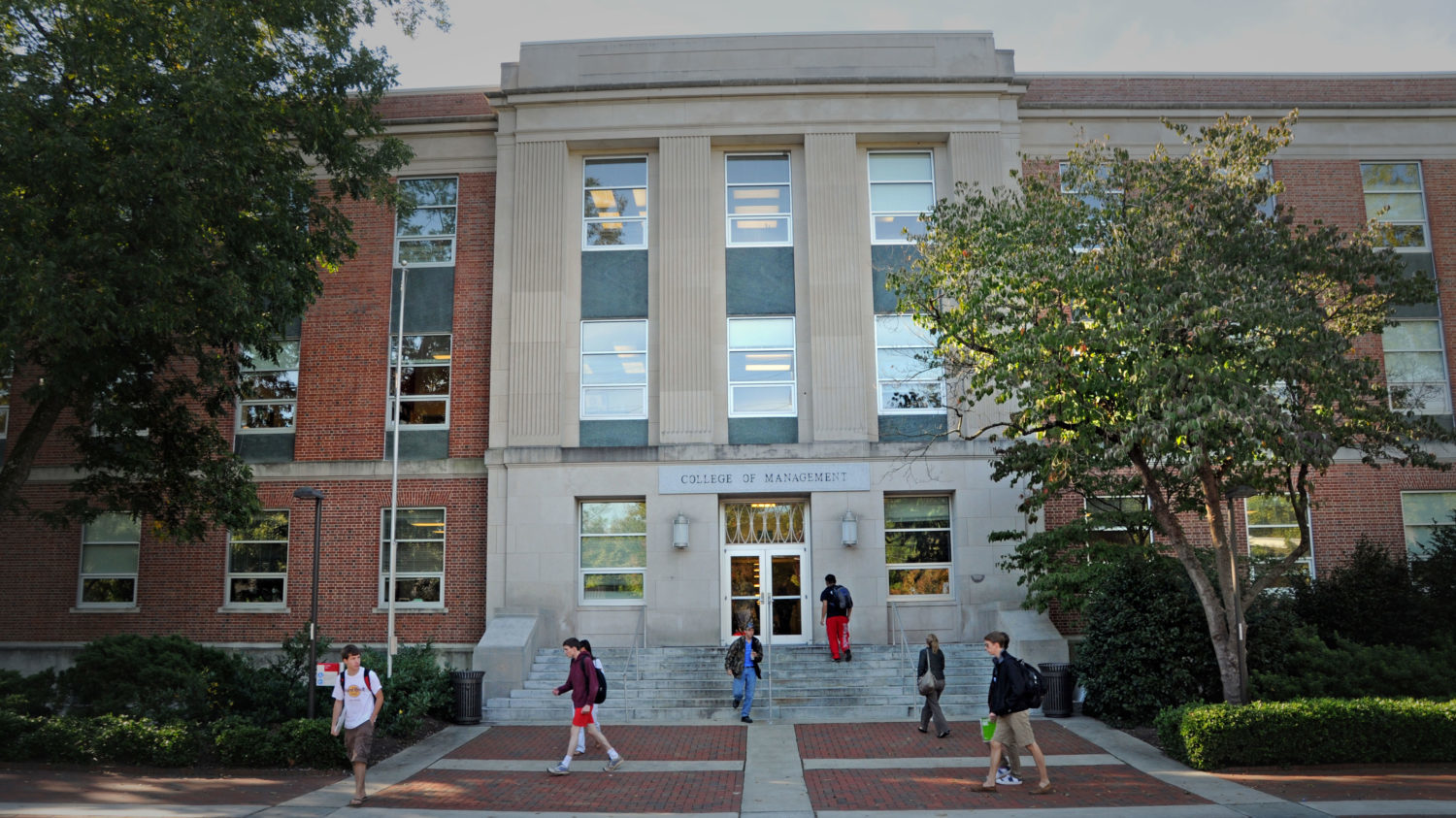 Nelson Hall at NC State University