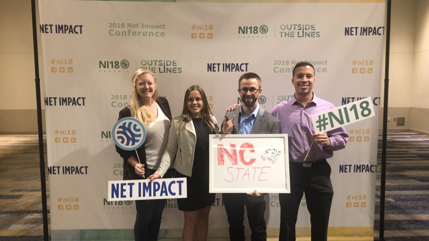 Net Impact Group Photo 2018